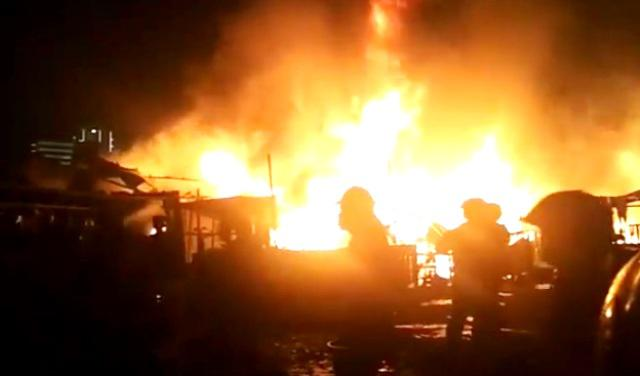 Pasca Kebakaran di Pasar Segiri Samarinda, Ketua RT Kewalahan Mendata Korban