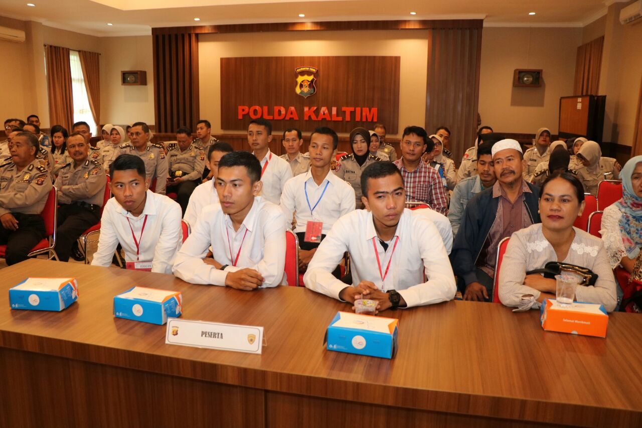 Sidang Kelulusan Akhir RIM Polri di Polda Kaltim, 10 Orang Calon Tamtama Dinyatakan Lulus