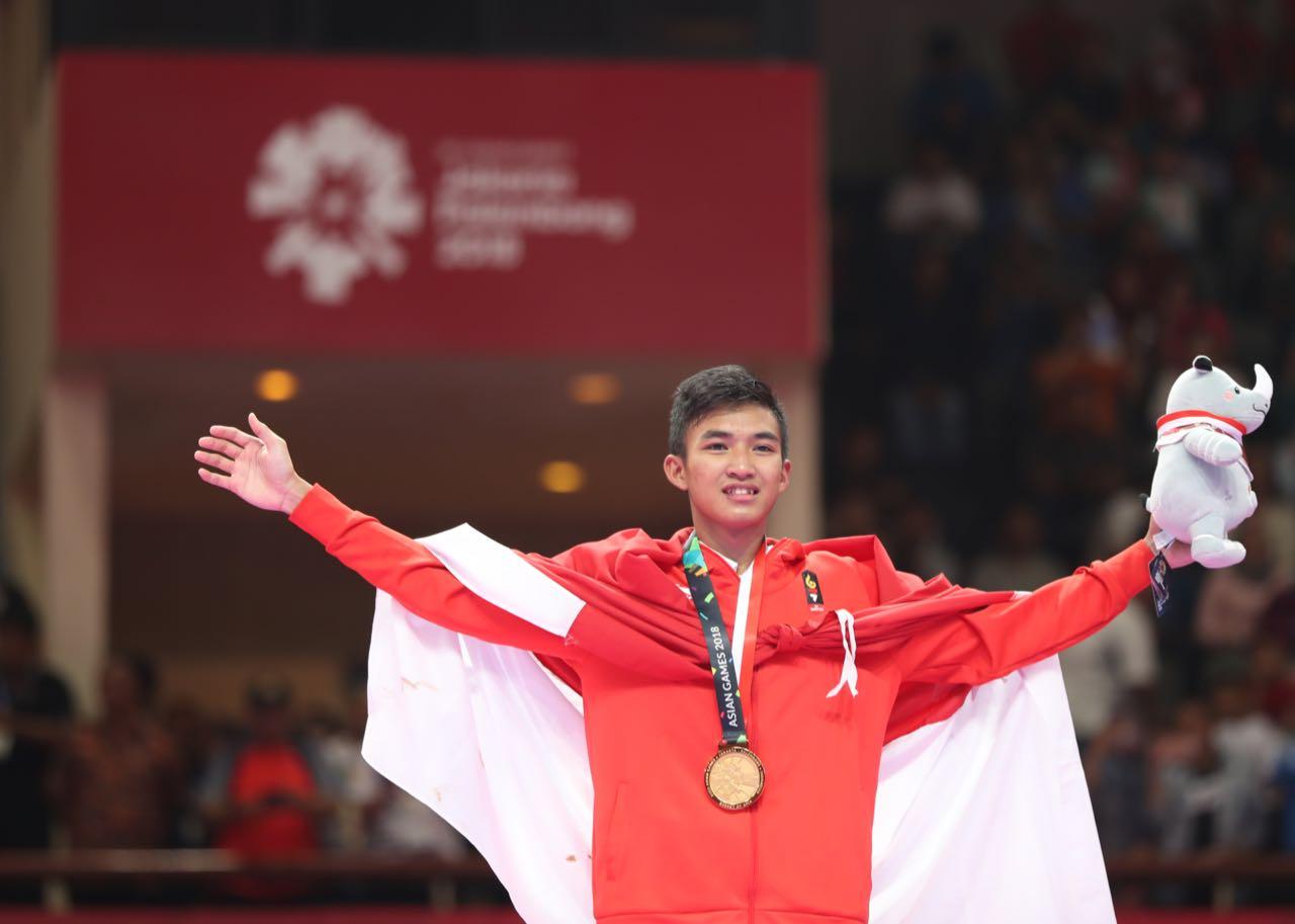 Setelah Sumbangkan Emas di Asian Games 2018, Rifki Ardiansyah Target Medali Emas di Olimpiade 2020