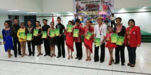 Cabor Dansa IODI Kota Balikpapan Meraih Juara Umum di Ajang Kejurda Dancesport Kaltm 2018 dengan 9 Emas 9 Perak 5 Perunggu