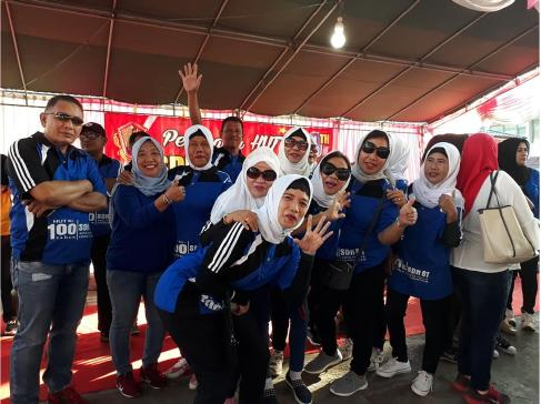 PERAYAAN 100 TAHUN SD 61 Kota Timur Kota Gorontalo