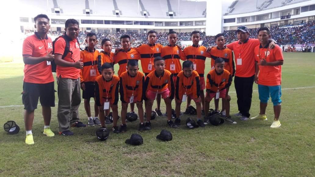 Tim Sepak Bola U12 Provinsi Gorontalo Menang 1 – 0  Atas Provinsi Kalimantan Selatan