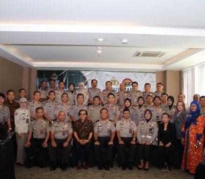 Pembukaan Sertifikasi Public Relation Divisi Humas Polri Ta 2018  Polda Gorontalo