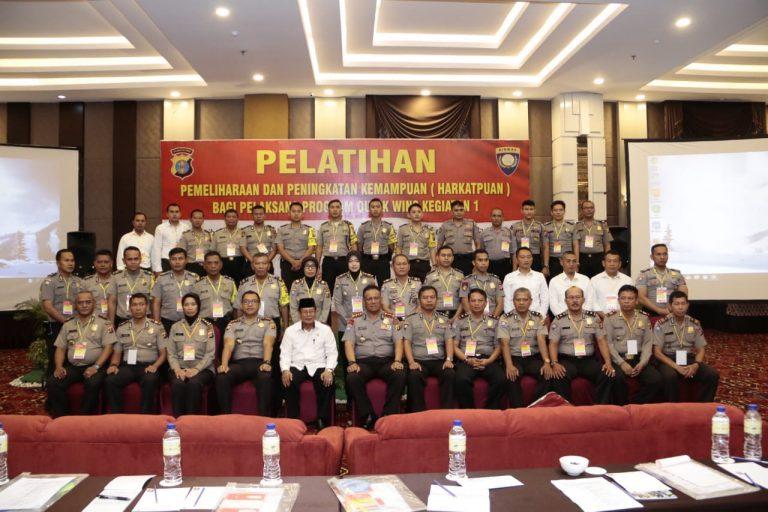 Ratusan Bhabinkamtibmas se-Polda Kalimantan Timur Ikuti Pelatihan di Grand Tjokro Balikpapan