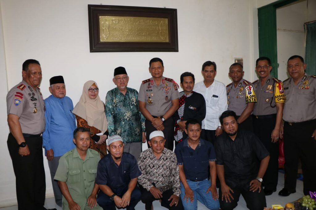 Silahturahmi dengan Para Tokoh Agama, Kapolda Kalimantan Timur Berharap Ulama Menjadi Penyejuk Jelang Pemilu 2019