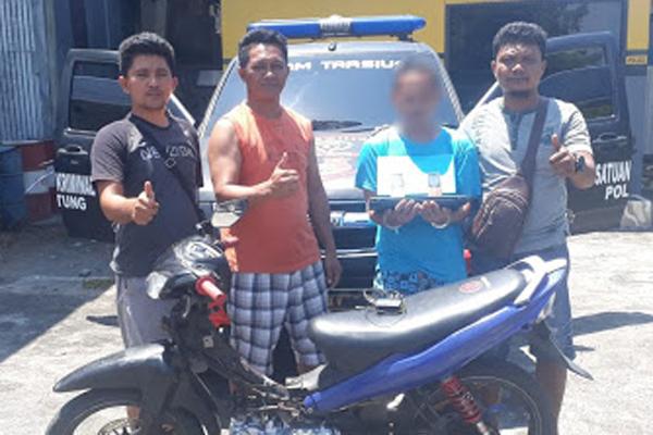 Polisi Ringkus Iswan (19), Pelaku Curanmor dan Curanik yang Beraksi di Wilayah Kota Bitung
