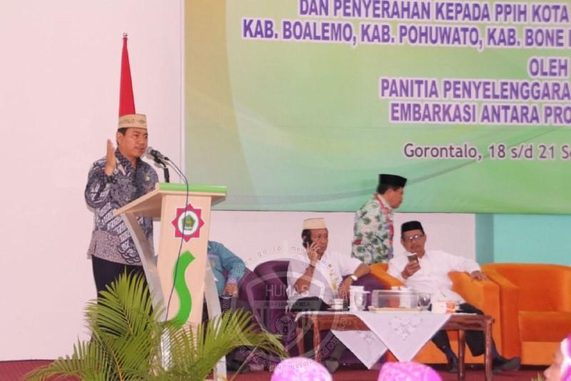 447 Jamaah Haji Kloter 29 Asal Gorontalo Tiba, Satu Orang Meninggal