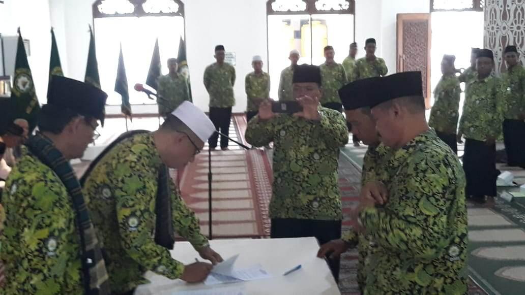Pengukuhan Pengurus Cabang Dewan Masjid Indonesia (DMI) Tingkat Kecamatan Se Kota Balikpapan Masa Bhakti 2017 – 2022 & 2018 – 2023
