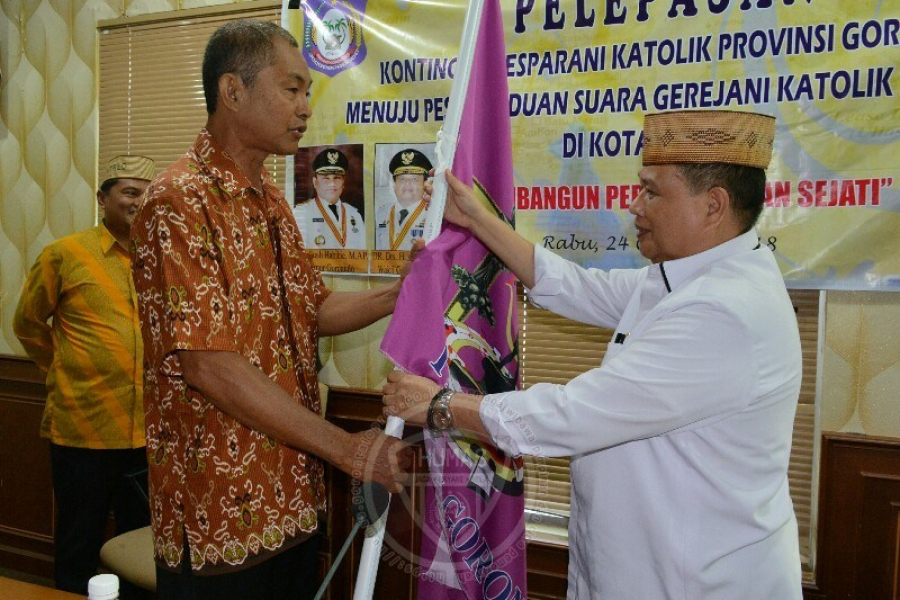 Wakil Gubernur Lepas Kontingen Pesparani Gorontalo