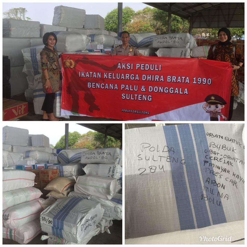 Keluarga Besar Alumni AKPOL 1990 Peduli Bencana Alam di Palu, Donggala, Sigi Sulawesi Tengah