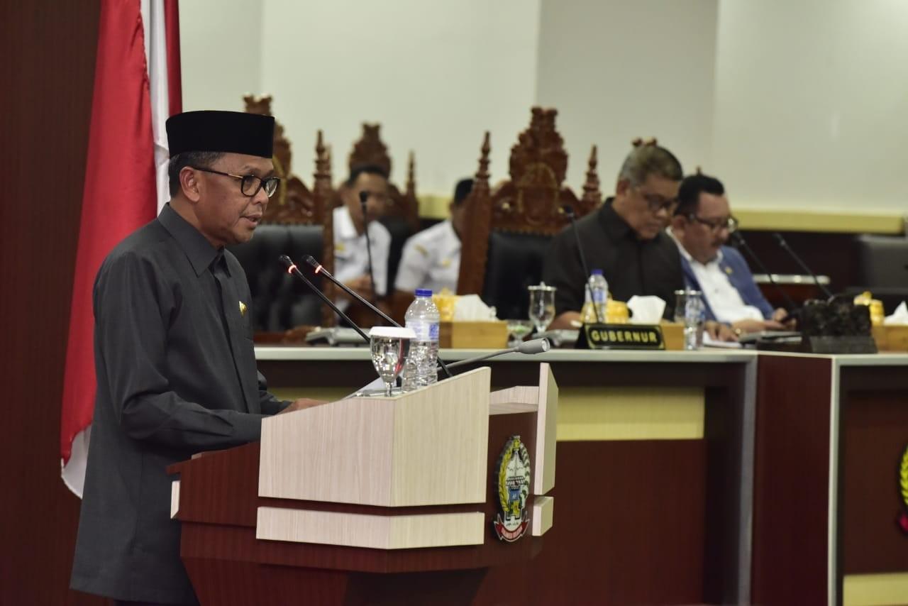 Pidato Lengkap Gubernur Nurdin Abdulah pada Pengantar Nota Keungan dan Ranperda Provinsi Sulsel APBD 2019