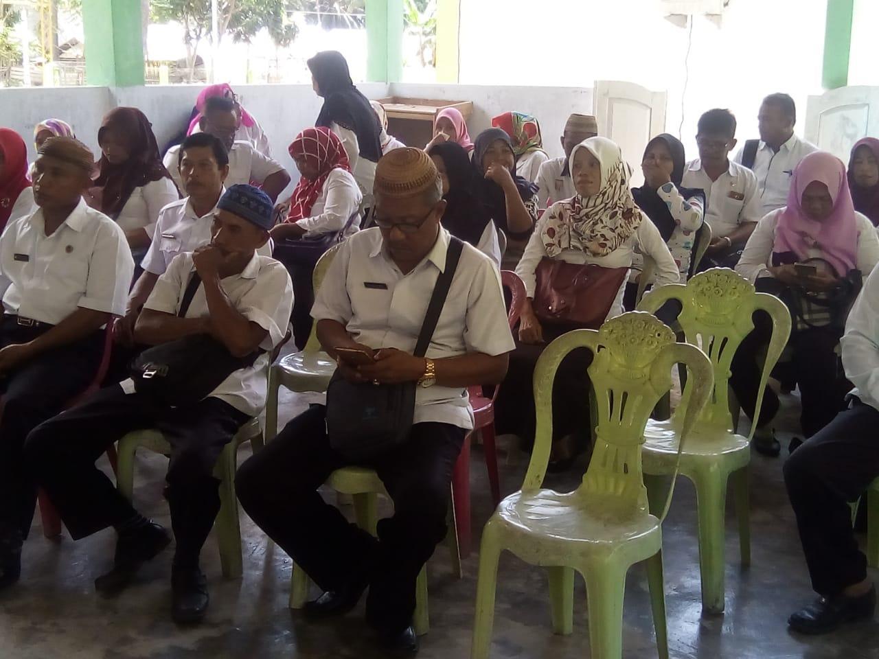 Kegiatan Pelaksanaan Ujian Baca Kitab Suci Al Quran Bagi Seluruh ASN di Kecamatan Biluhu Kab. Gorontalo