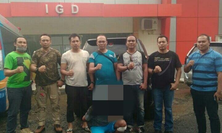 Unit RESMOB Polda Gorontalo Hentikan Pelarian   RS. ( Roni )