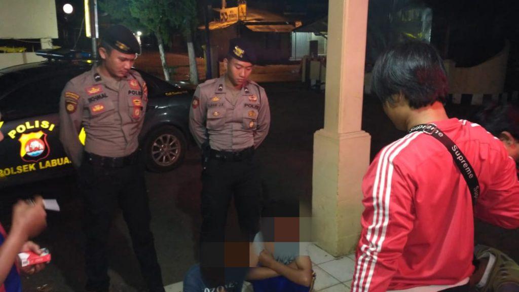 Direktorat Samapta Polda Banten Amankan 2 Orang Pelaku Pencuri Rumah Makan Terdampak Tsunami