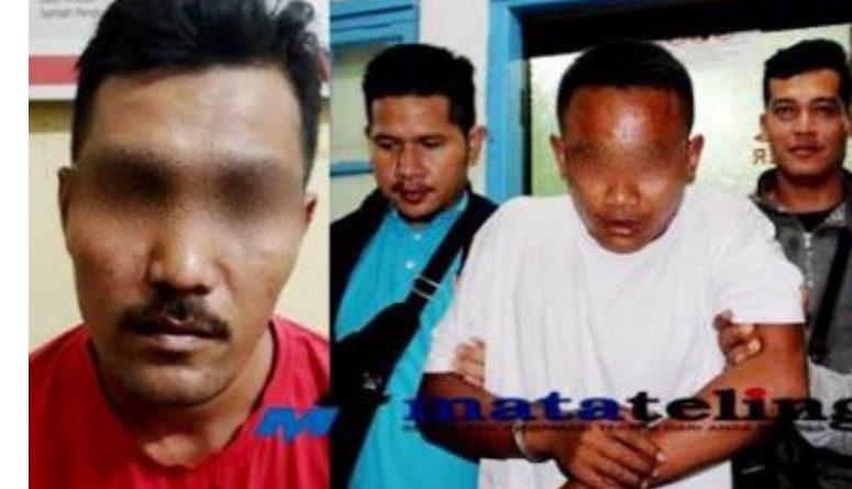 Polres Asahan Polda Sumut, Bekuk Dua Oknum Sekuriti Pelaku  Pencurian