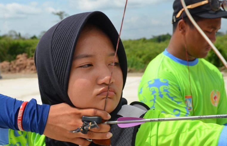 Jemima Josephine Homigas  Siswi SMA Negeri 5 Balikpapan, Peraih Medali Emas Atlet Panahan POPROV Kaltim 2018