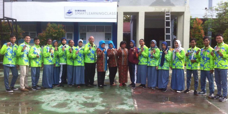 SMA Negeri 5 Balikpapan Meraih 6 Medali Emas 6 Perak 7 Perunggu Pada POP Provinsi di Sangatta