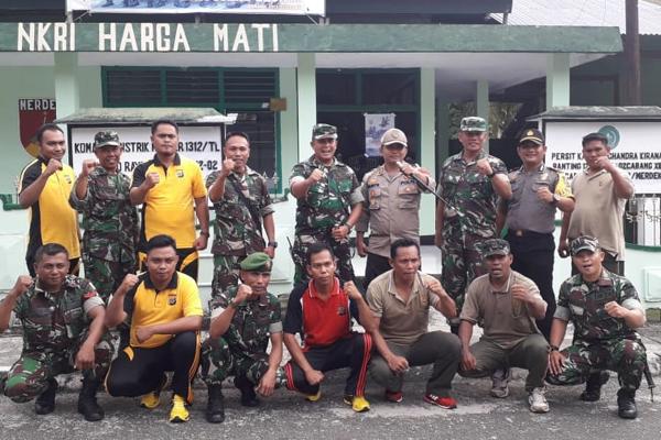 Kunjungan Kerja Bersama Kapolres Kepulauan Talaud dan Dandim ke Sejumlah Polsek & Koramil