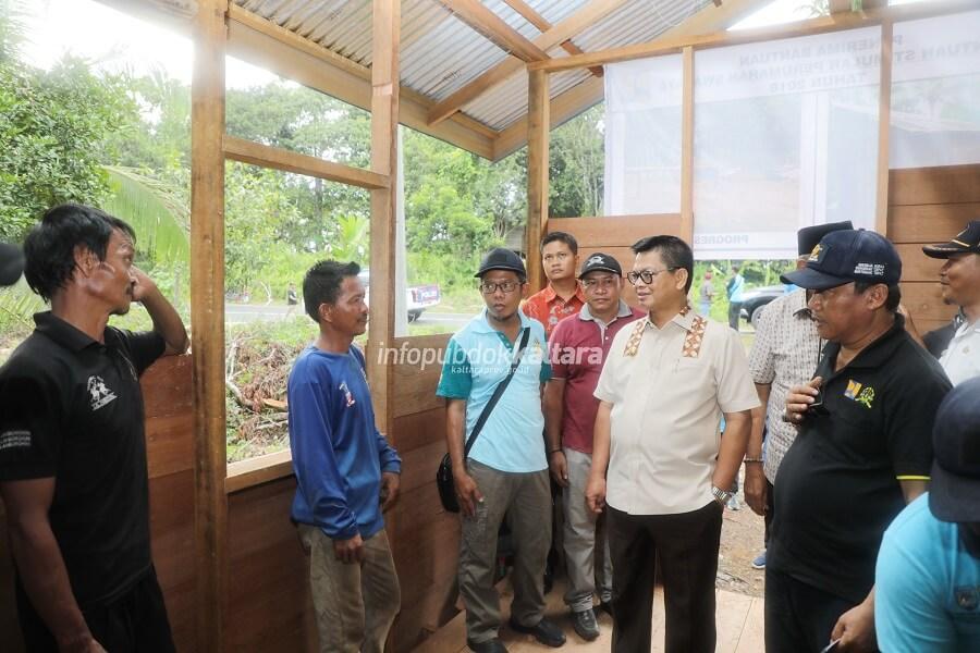 Gubernur Kaltara : 2500 Unit Rumah Bakal Direhab Tahun Ini