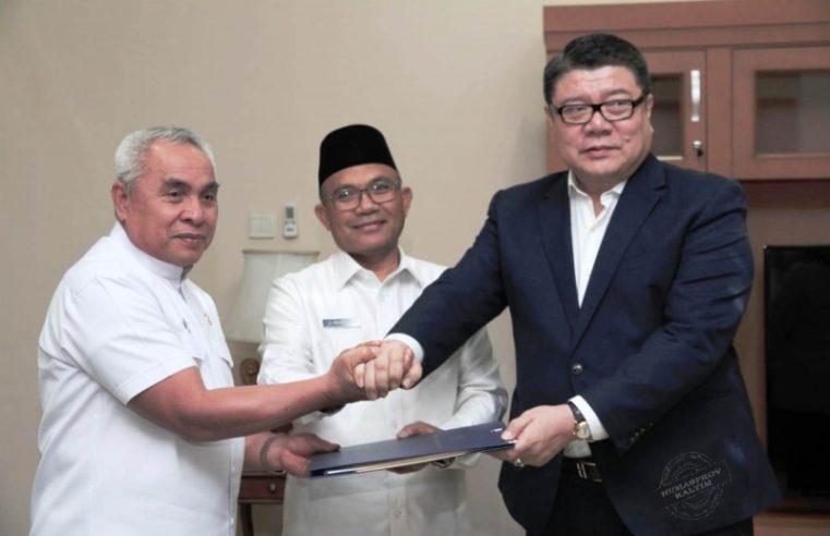 Gubernur Dr. Ir. H.Isran Noor, M.Si Teken SKB Percepatan Pengembangan Maratua dan Seychelles