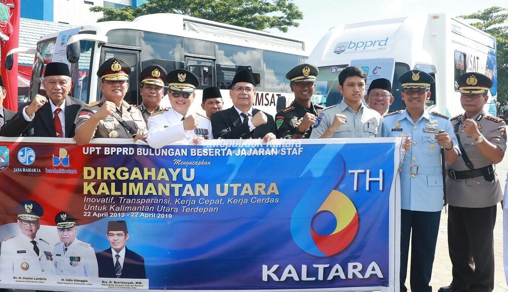 Bus Samsat Keliling (Samling) Untuk Mudahkan Wajib Pajak Kendaraan Bermotor Di Wilayah Tanjung Selor