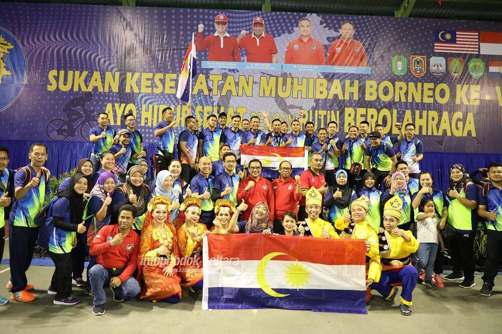 Kota Tarakan Provinsi Kalimantan Utara, Tuan Rumah Sukan Kesihatan Muhibah Borneo (SKMB) VII