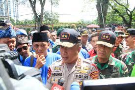 Turun ke Lokasi Demo, Kapolda Jawa Barat  Pastikan Pelaksanaan Peringatan Hari Buruh Internasional 2019 di Jabar Aman