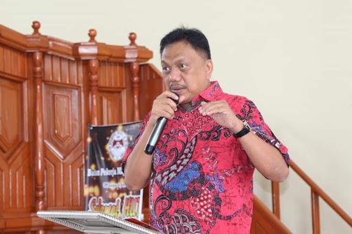 Gubernur Provinsi Sulawesi Utara Olly  Dondokambey : Kita Bersukacita Karena Tuhan Yesus Naik Ke Surga
