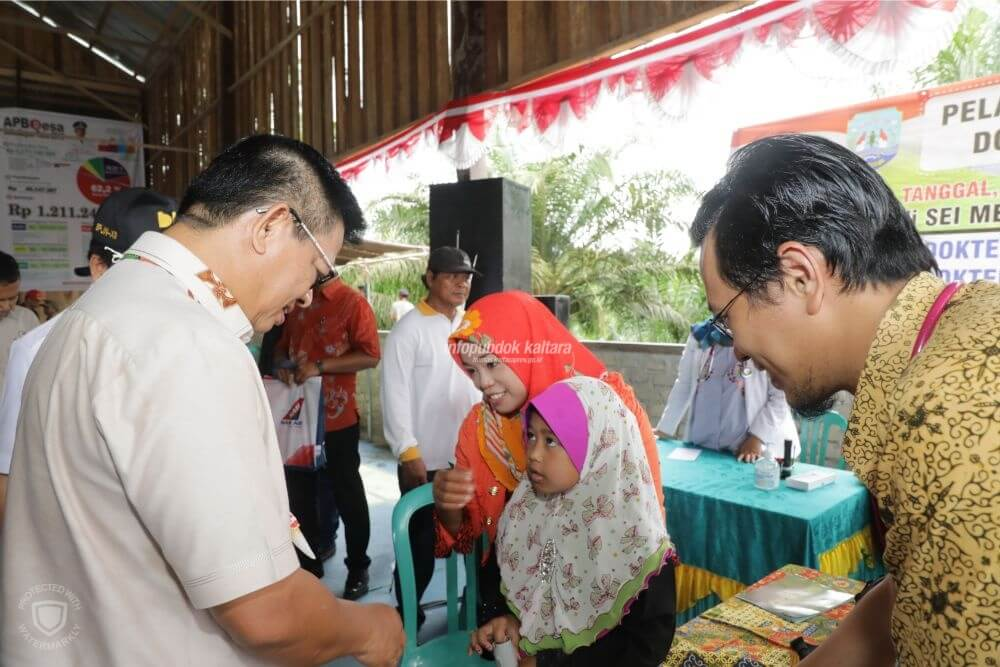 105 Pasien Ikut Operasi Katarak Gratis di Tanjung Selor