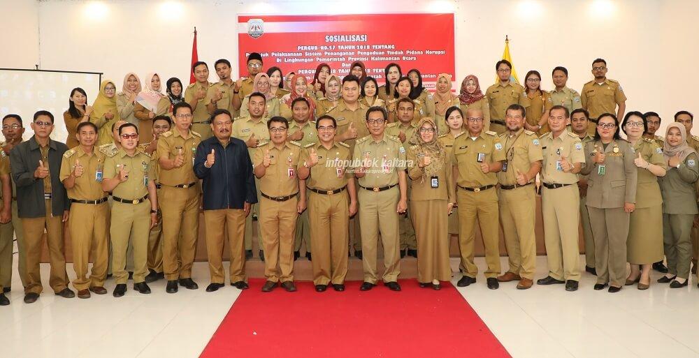 Cegah Korupsi, Pemprov Kalimantan Utara (Kalatara) Sosialisasikan 2 Pergub