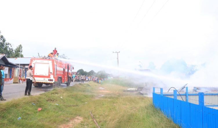 Polisi Selidiki Penyebab Kebakaran Rumah Tidak Berpenghuni di Mappi