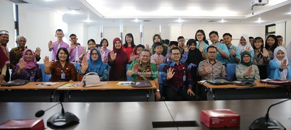 Pemerintah Provinsi Kalimantan Utara Kenalkan Bahaya Rabies ke Pelajar