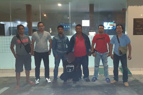 Polresta Manado Tangkap Pencuri Bermodus Pecah Kaca Mobil di Mapanget