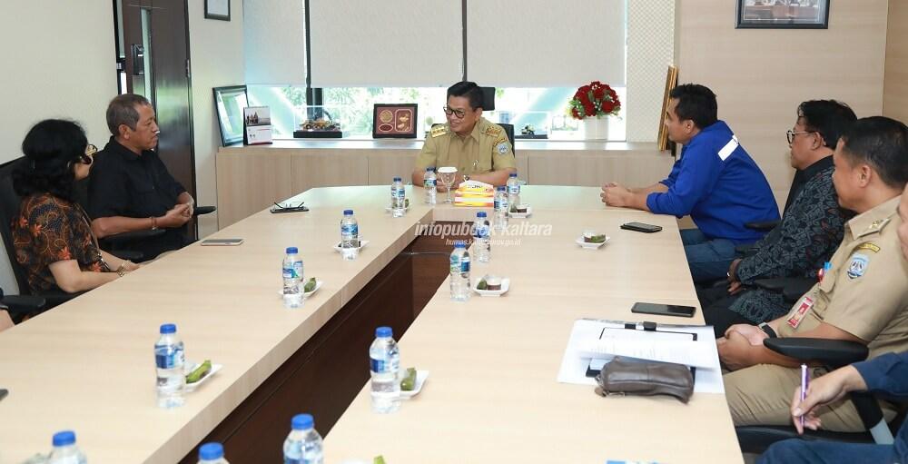 Gubernur Kaltara Irianto Lambrie Terima Audiensi Jajaran Kementerian ESDM