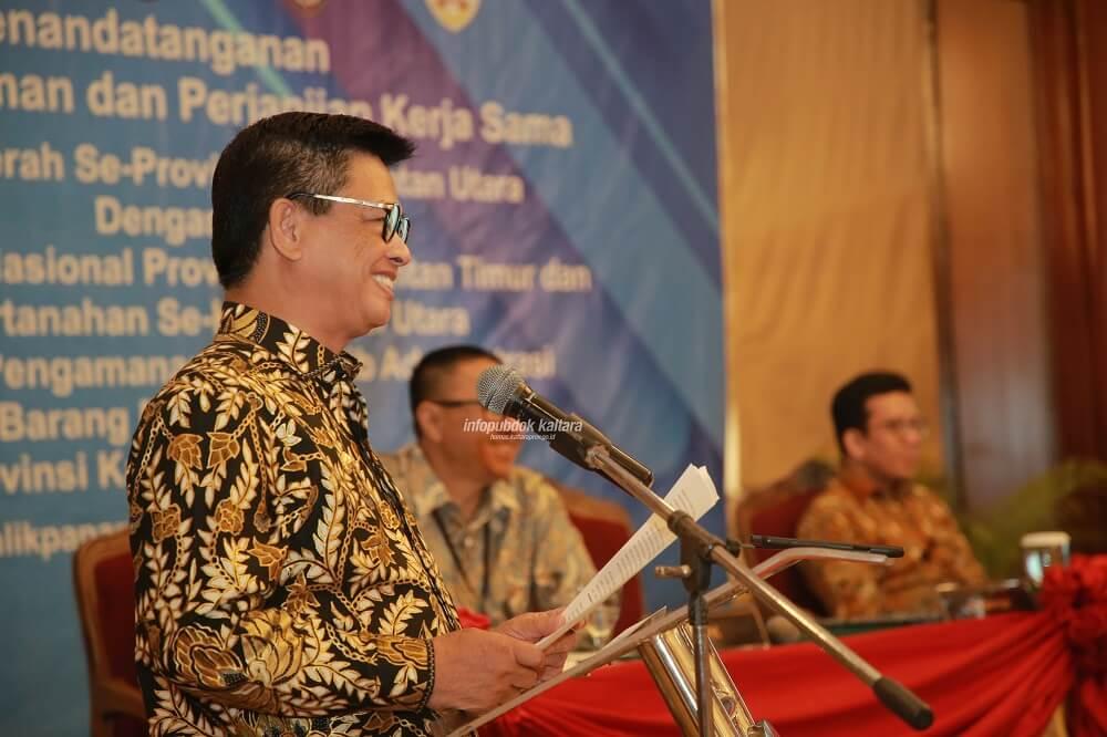 Gubernur Kalimantan Utara (Kaltara) Ingatkan Pentingnya Pencatatan dan Pengamanan