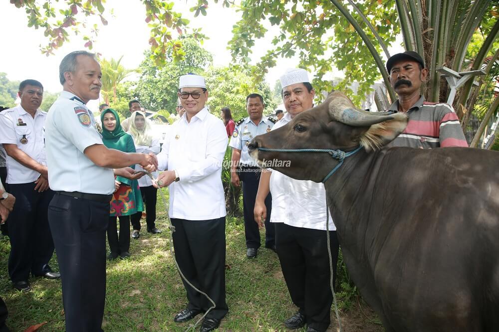 Pemerinta Provinsi Kalimantan Utara Sumbang Hewan Qurban ke Lapas Tarakan dan Nunukan