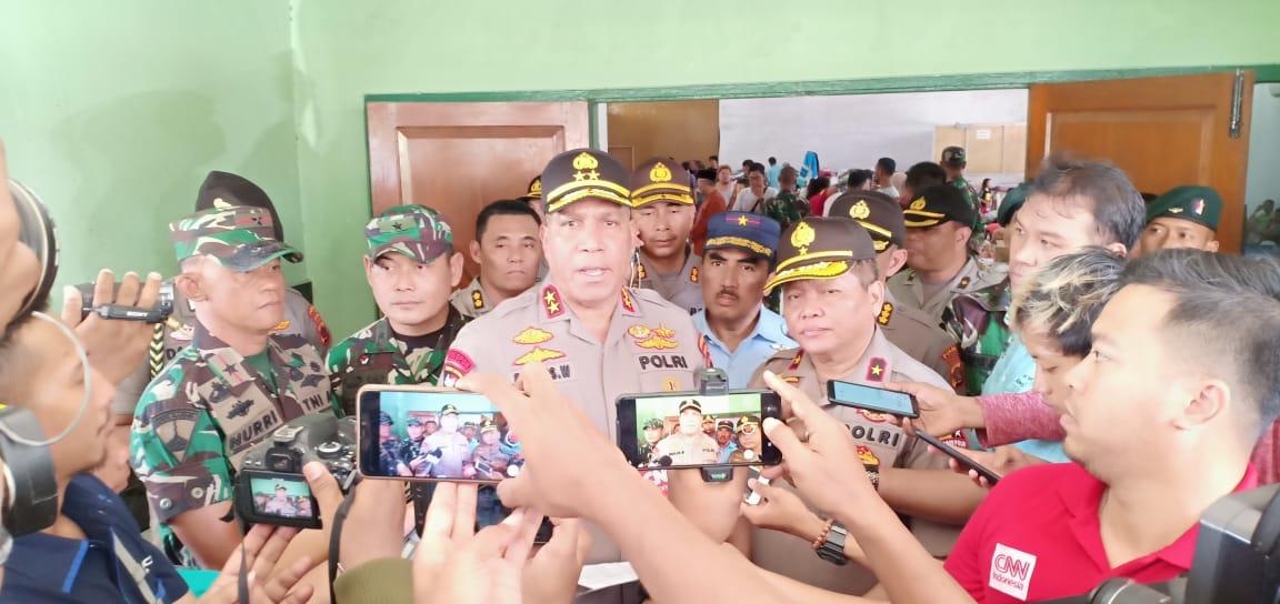 Usai dilantik, Irjen Pol. Drs. Paulus Waterpauw Bergerak Cepat Tangani Pengungsi Wamena