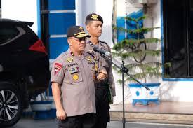 Jelang Pelantikan Presiden dan Wakil Presiden, Polda Sulawesi Barat (Sulbar) Gelar Apel Gabungan