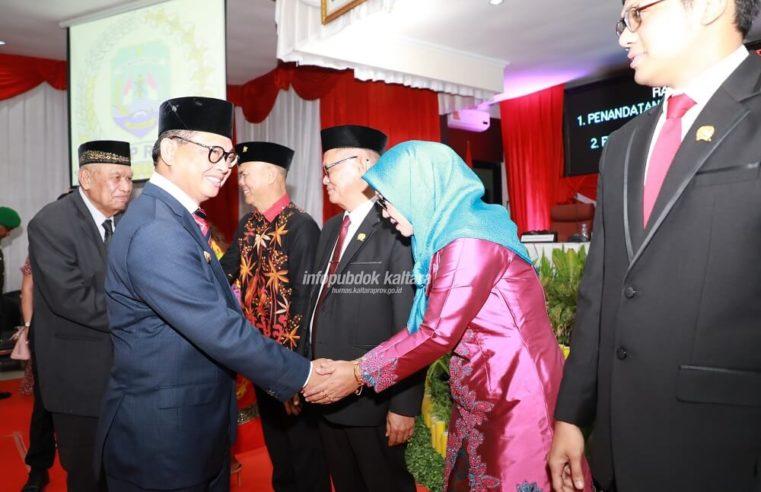 Pimpinan DPRD Provinsi Kaltara Resmi Dilantik, Gubernur Ajak Kerja Cepat