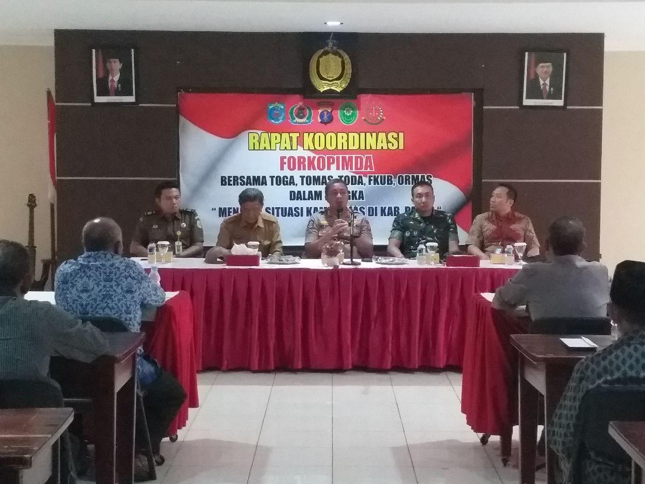 Wakil Bupati Paser (Wabup) H. Kaharuddin, S.E Imbau  Warga Jaga Situasi Yang Aman & Kondusif