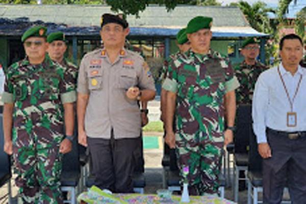 Kapolres Minsel Hadiri Upacara Pembukaan Pendidikan Pertama TNI AD di Laporan Rindam