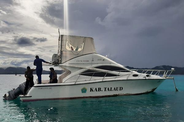 Cegah Masuknya Teroris, Satpolairud Polres Kepulauan Talaud Tingkatkan Patroli Perairan