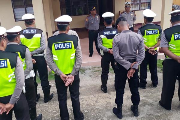 Operasi Zebra Samrat 2019 di Kepulauan Talaud, Polantas Tindak 146 Orang Pelanggar Lalulintas