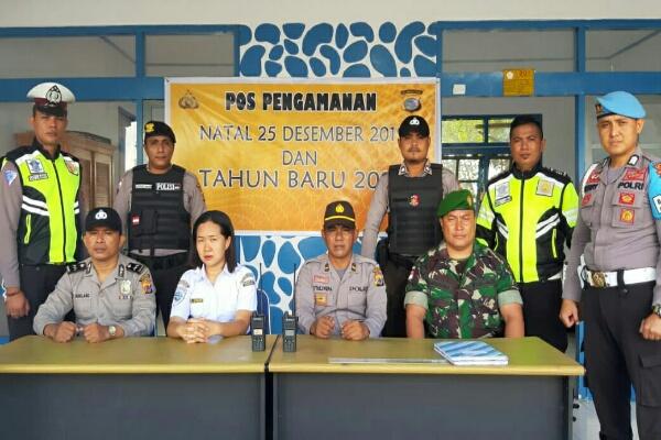 Polisi Mengamankan 214 Gereja Saat Ibadah Natal & Tahun Baru di Kabupaten Talaud