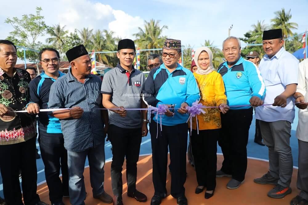 Gubernur Provinsi Kalimantaran Utara Dr. H. Irianto Lambrie Ajak Masyarakat Giat Berolahraga