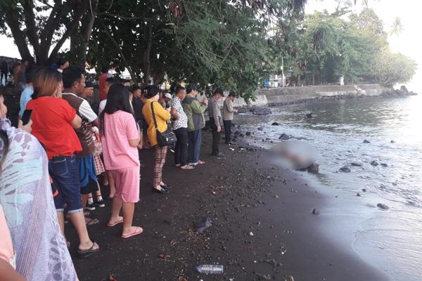 Polisi Dalami Kasus Penemuan Mayat Remaja Pria di Pantai Malalayang Manado