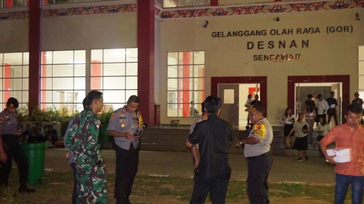 Sukses Amankan Natal Bersama, Polres Kubar Bersama TNI Tuai Pujian Dari Bupati & Masyarakat