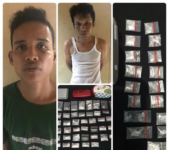 Satreskrim Narkoba Polres Bengkalis Amankan Dua Orang Bandar Shabu Dalam Sehari