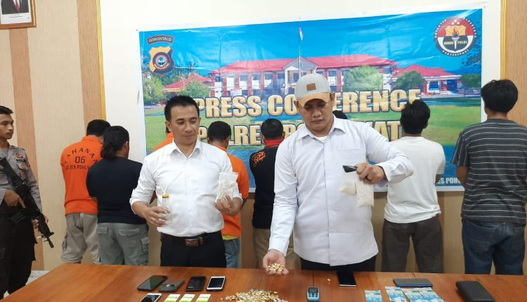 Simpan 1.466 Butir Pil Koplo, Warga Desa Palopo Kecamatan Marisa di Ciduk Polisi