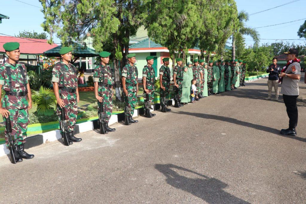 Kapolda Beserta Ketua Bhayangkari Daerah Kaltim Silaturahmi ke Kodim 0904/Paser